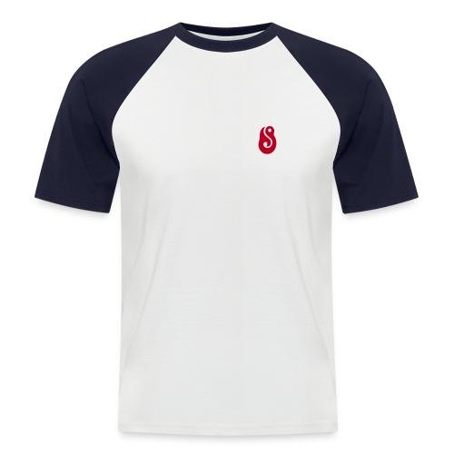 hook, lucky, lures - Men's Baseball T-Shirt