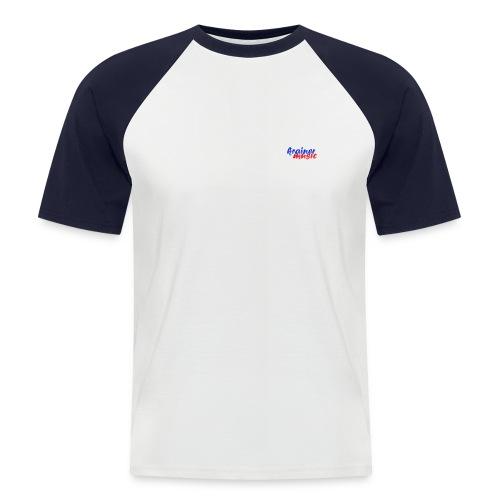 km druck spreadshirt 1450x1000 - Männer Baseball-T-Shirt