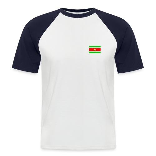 mati surivlag - Mannen baseballshirt korte mouw