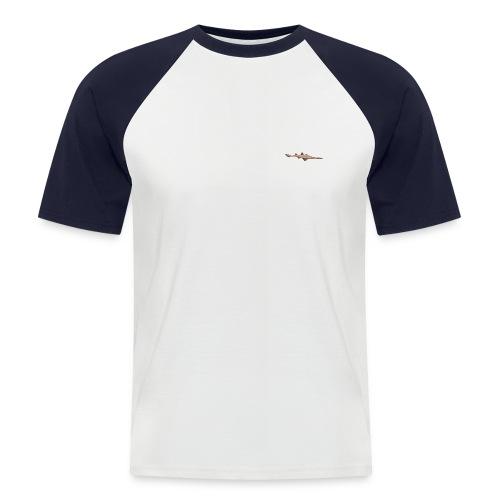 sawfish logo - Men's Baseball T-Shirt