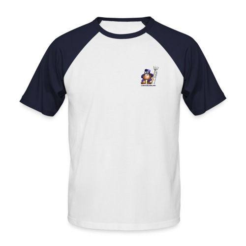 Edition 1 Linuxquimper 2009 - T-shirt baseball manches courtes Homme