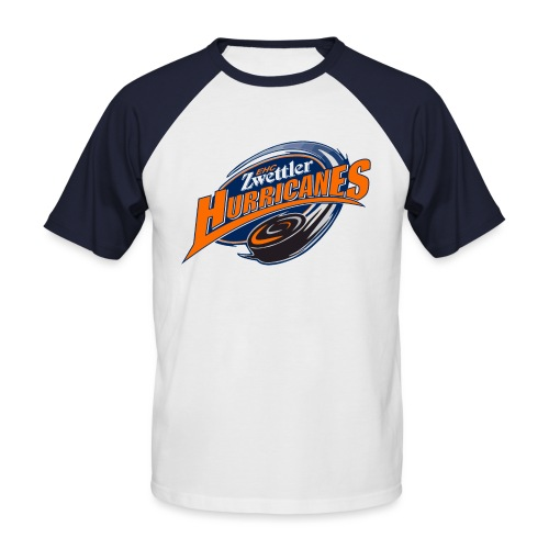hurricanes logo - Männer Baseball-T-Shirt