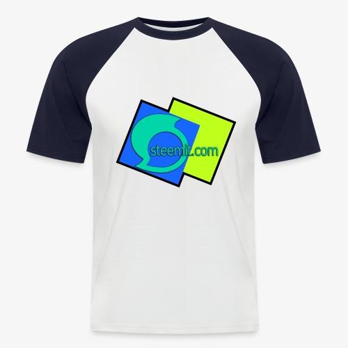 Steemit.com Promotion T - Men's Baseball T-Shirt