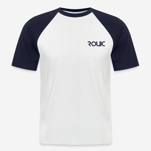 Rouic Blue - Men's Baseball T-Shirt