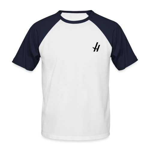 JH NEW BLACK png - Men's Baseball T-Shirt