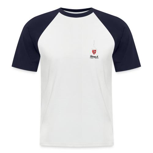 t shirt face - T-shirt baseball manches courtes Homme