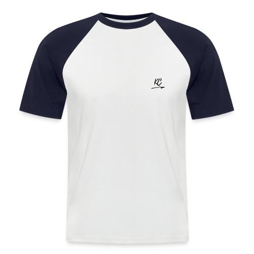 KC - Black - T-shirt baseball manches courtes Homme