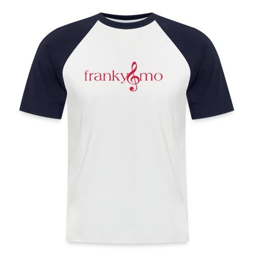 franky und mo no font - Männer Baseball-T-Shirt