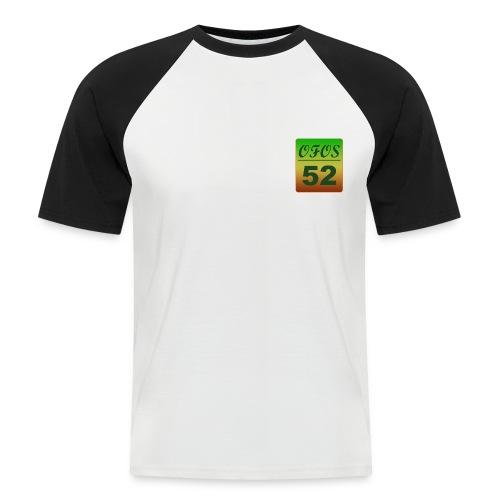 ofosfarver png - Kortærmet herre-baseballshirt