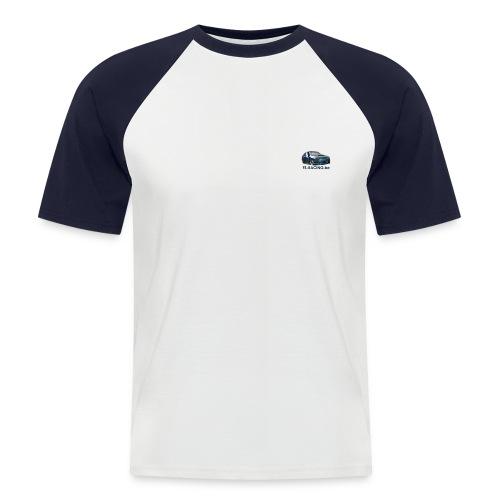 tshirtlogo1 - Mannen baseballshirt korte mouw