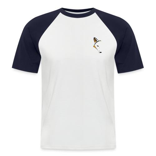 Lapė - Mannen baseballshirt korte mouw