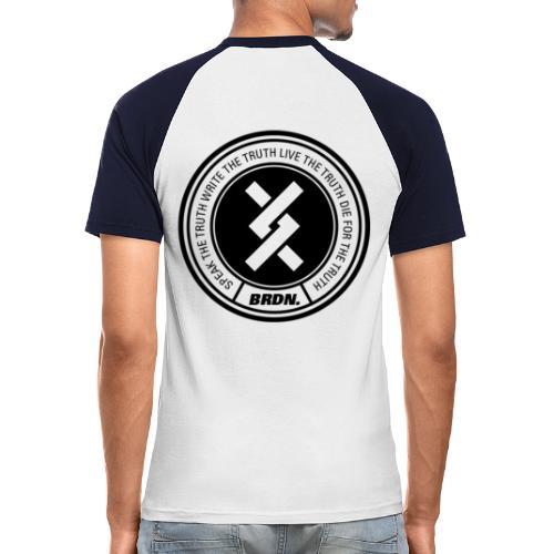 BRDN Truth - Männer Baseball-T-Shirt