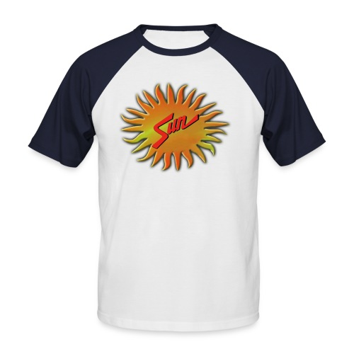 sunnewlogo - Men's Baseball T-Shirt
