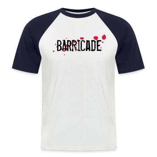 barricade tshirt - Männer Baseball-T-Shirt