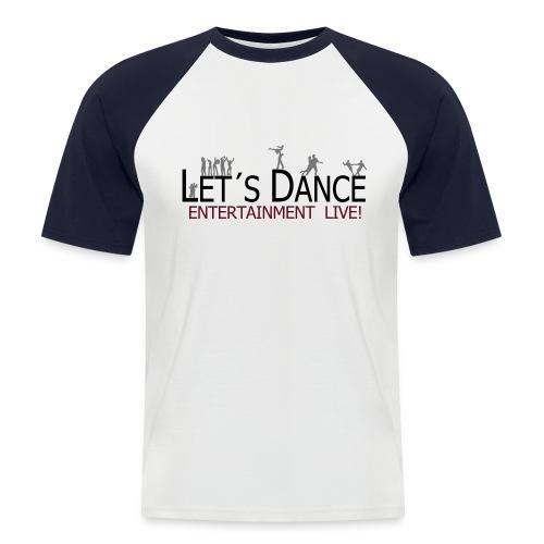 lets dance logo neu - Männer Baseball-T-Shirt