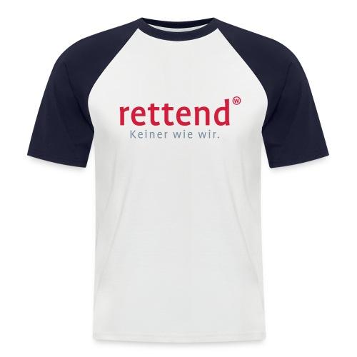 rettend mit claim - Männer Baseball-T-Shirt