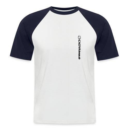 Cagivaforum de vertikal - Männer Baseball-T-Shirt