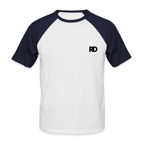 rd black png - T-shirt baseball manches courtes Homme