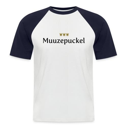 Muuzepuckel (Köln/Kölsch/Karneval) - Männer Baseball-T-Shirt