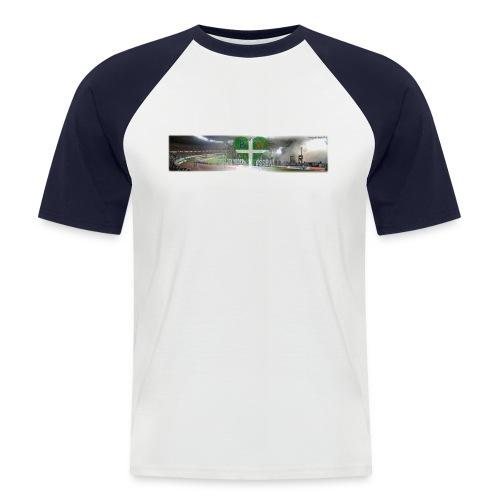 blockwest collage - Männer Baseball-T-Shirt