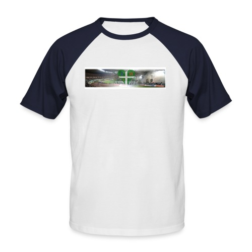 blockwest collage - Männer Baseball-T-Shirt