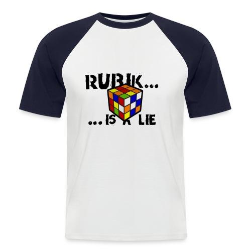 is a lie - Camiseta béisbol manga corta hombre