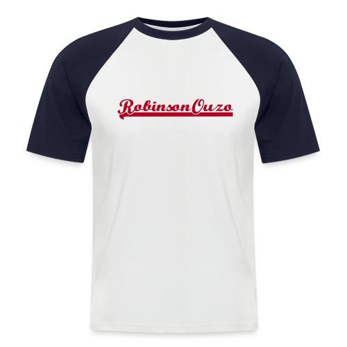 RobinsonOuzoLogo - Männer Baseball-T-Shirt