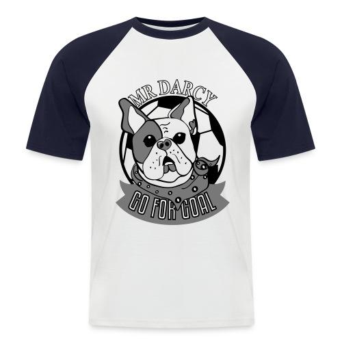 MR DARCY GO FOR GOAL - Männer Baseball-T-Shirt