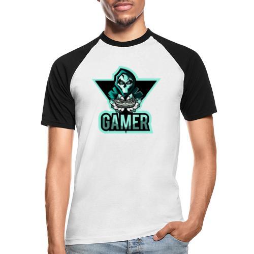 GAMER JOK - T-shirt baseball manches courtes Homme