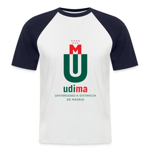 logoudimavertical - Camiseta béisbol manga corta hombre