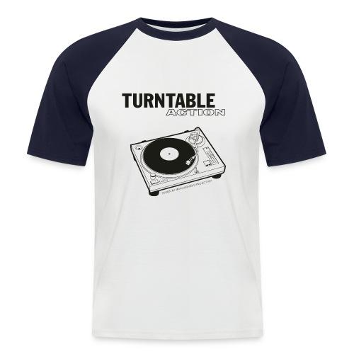 turntableaction - Männer Baseball-T-Shirt