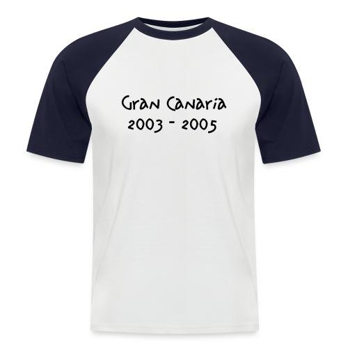 gc - Kortermet baseball skjorte for menn