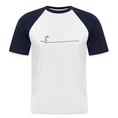 slacklinelongline - Männer Baseball-T-Shirt