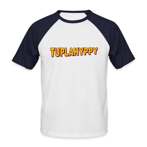 TUPLAHYPPY Essential Collection - Miesten lyhythihainen baseballpaita