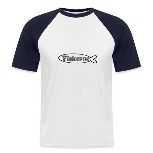 Betta Fish - Kortærmet herre-baseballshirt