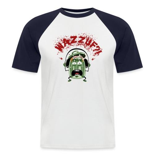 poubellefondclair - T-shirt baseball manches courtes Homme