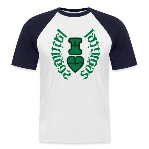 i love Las Vegas sexy girl,Las Vegas subliminal se - Men's Baseball T-Shirt