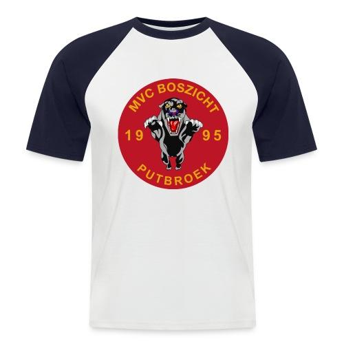 logomvc2011 - Mannen baseballshirt korte mouw