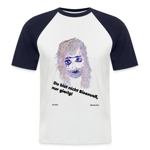 Bisexuell-männer - Männer Baseball-T-Shirt