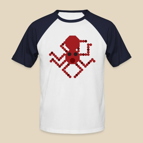 Octopus - T-shirt baseball manches courtes Homme