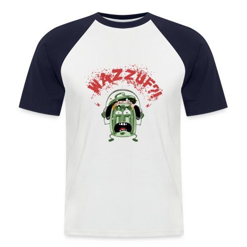 poubellefondsombre - T-shirt baseball manches courtes Homme