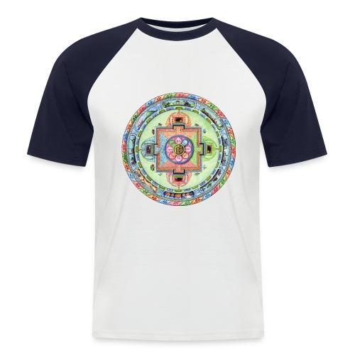 mandalamlodie2 - T-shirt baseball manches courtes Homme