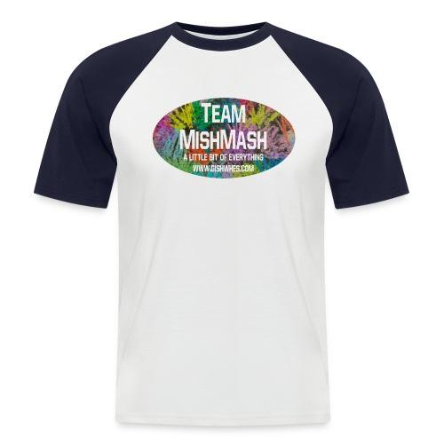 Team MishMash Logo - Men's Baseball T-Shirt