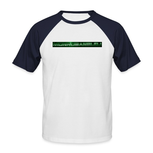 cool6 png - T-shirt baseball manches courtes Homme