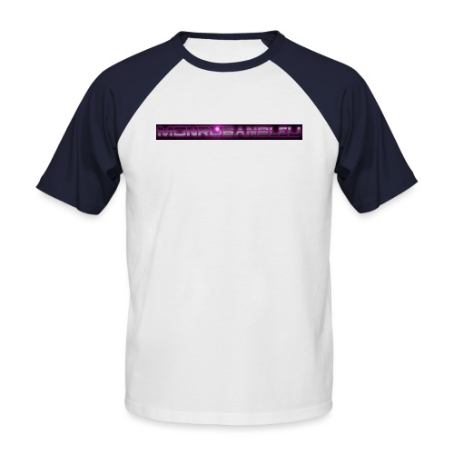 cool8 png - T-shirt baseball manches courtes Homme