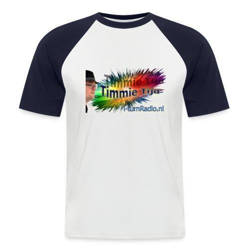timmie tijd 2 png - Mannen baseballshirt korte mouw