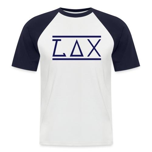 LAX WHITE LOGO KOMBI - Männer Baseball-T-Shirt