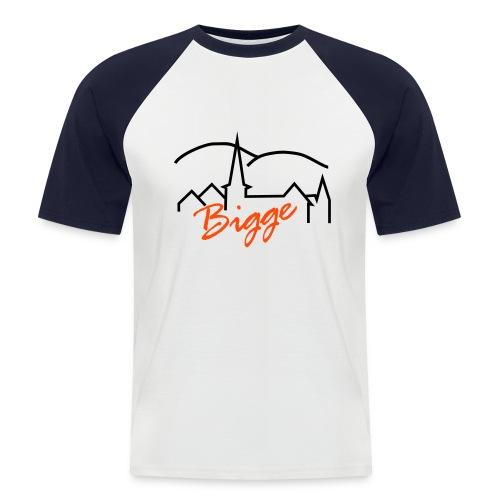 biggetshirtdruck - Männer Baseball-T-Shirt