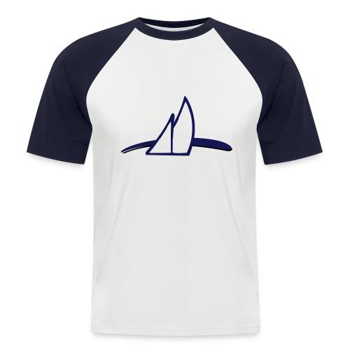 ln dunkel - Männer Baseball-T-Shirt
