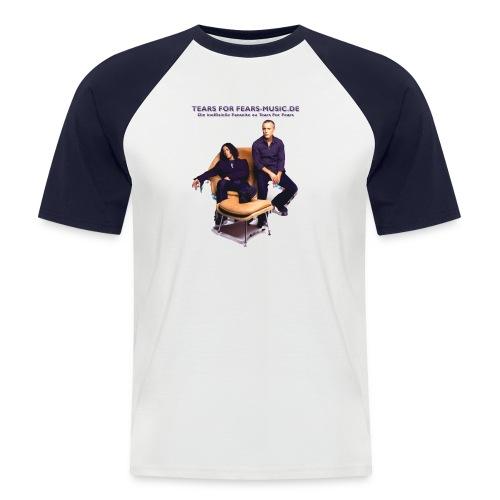 motiv 1 - Männer Baseball-T-Shirt